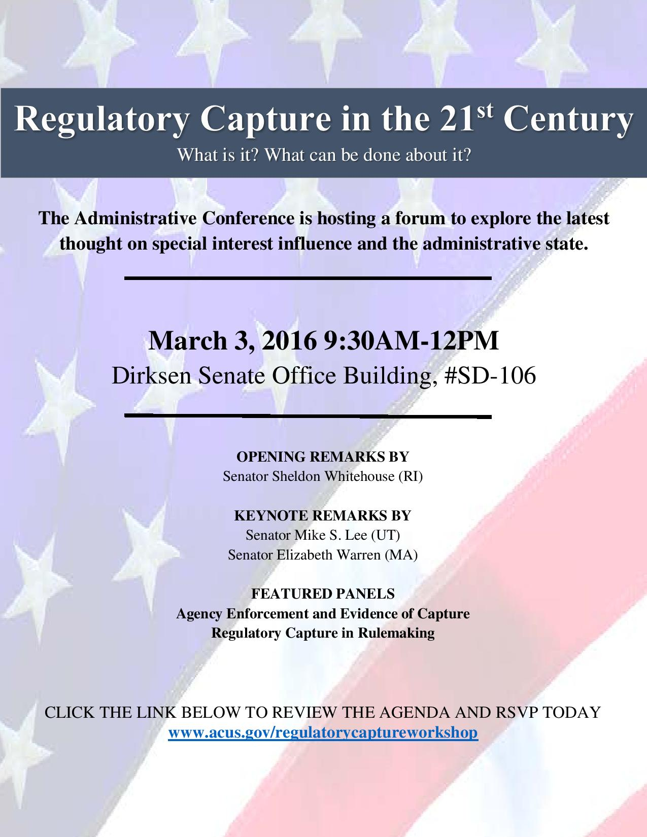 how important was regulatory capture in Regulatory capture occurs when a regulatory agency ends up advancing the political or commercial concerns of the entities it is supposed to be regulating.